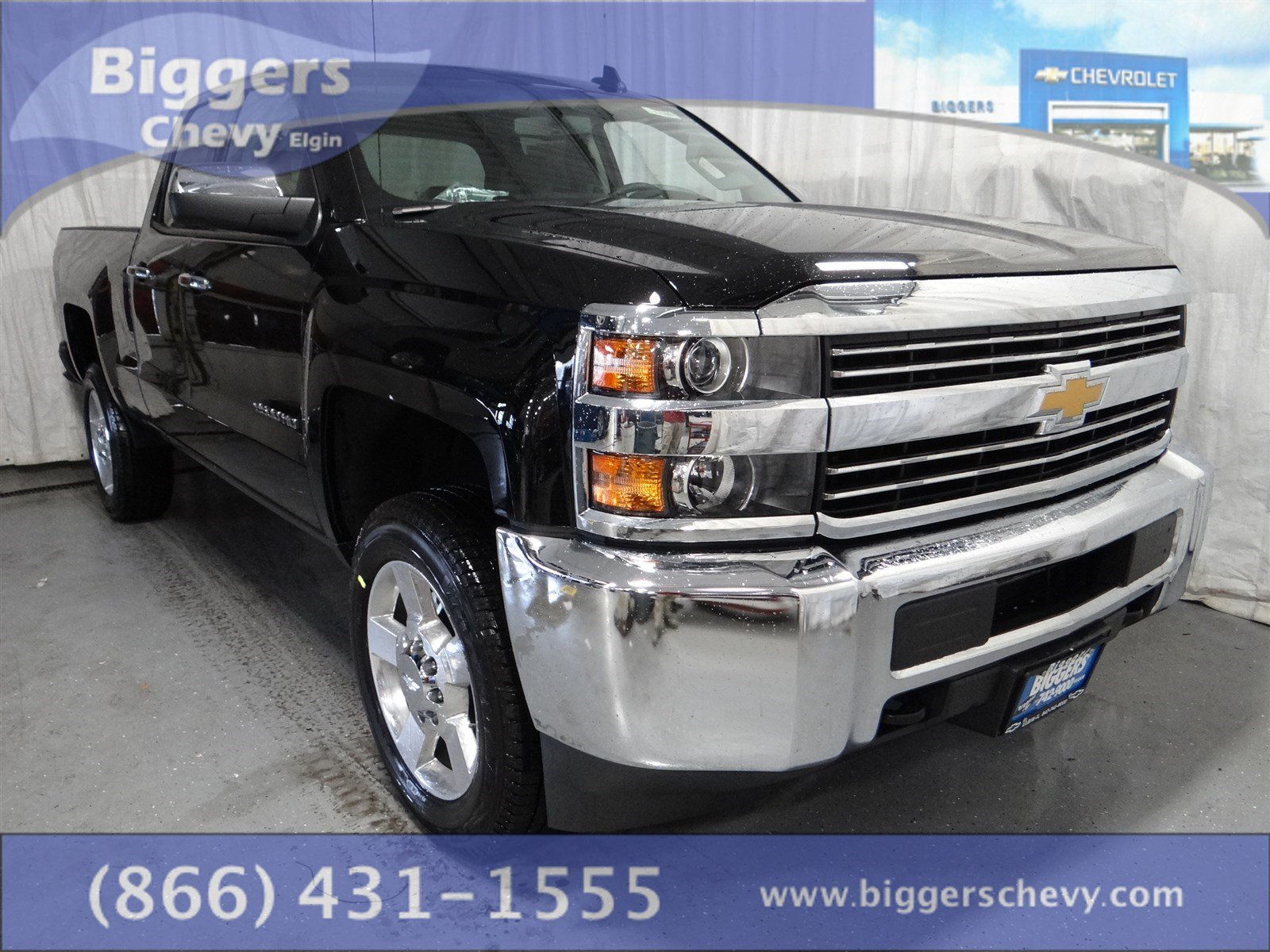 new 2017 chevrolet silverado 2500hd work truck extended cab near schaumburg 3170369 biggers. Black Bedroom Furniture Sets. Home Design Ideas