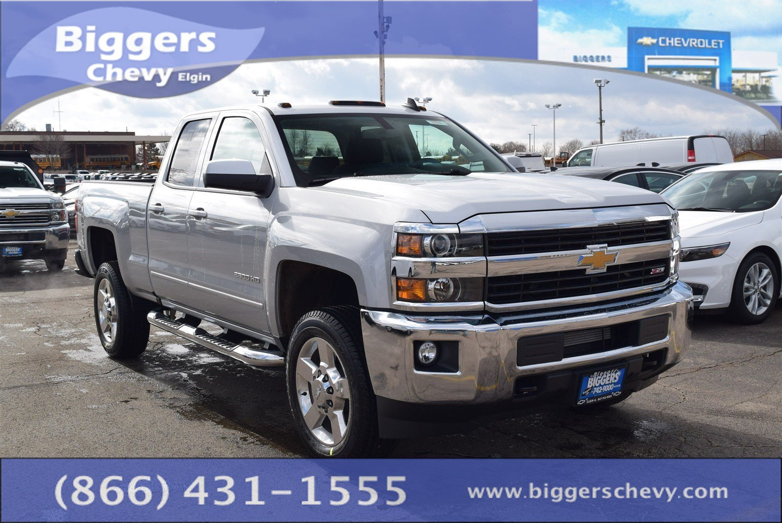 new 2017 chevrolet silverado 2500hd lt extended cab near schaumburg 3170401 biggers chevrolet. Black Bedroom Furniture Sets. Home Design Ideas